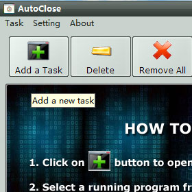 how to use AutoClose
